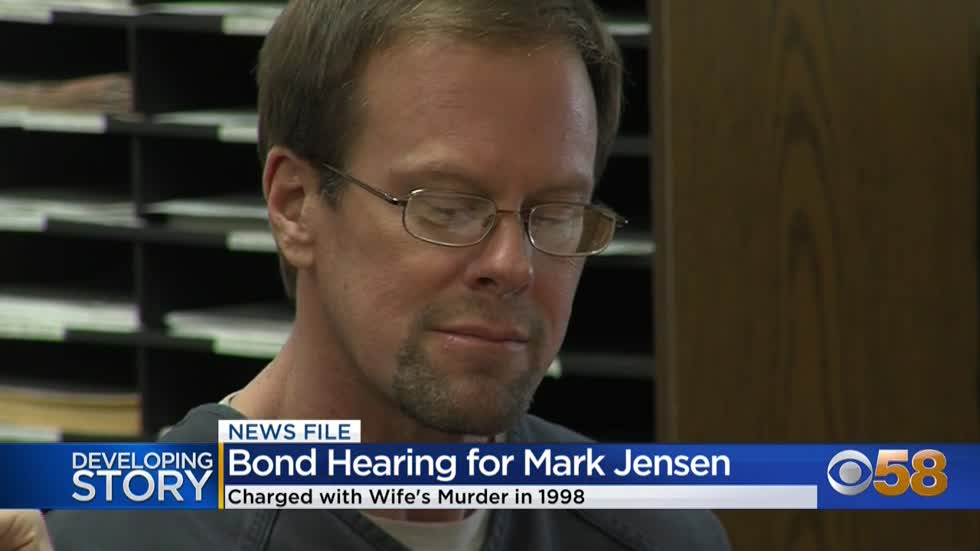 Bond hearing held for Mark Jensen, man charged with wife's...