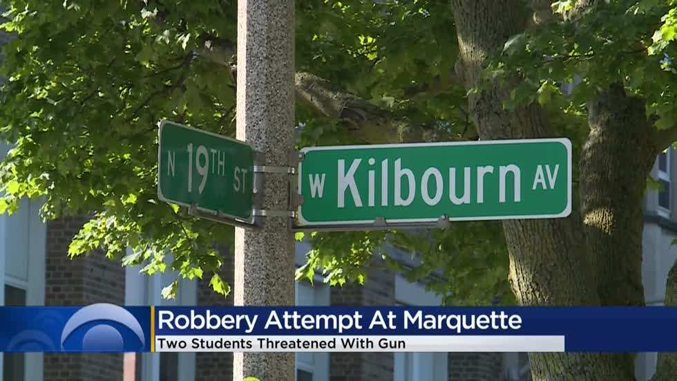 Marquette University Police searching for suspects in attempted robbery of students