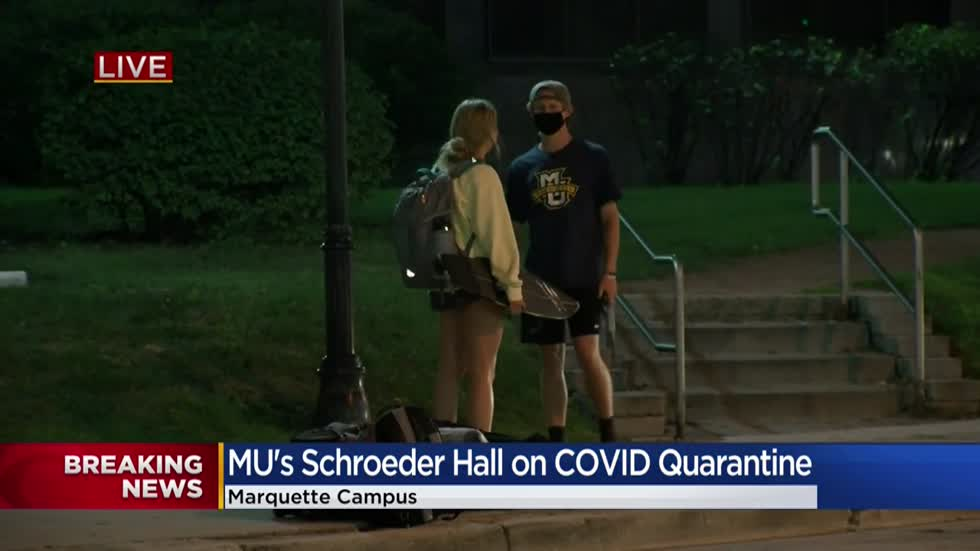 Marquette University directs residents of Schroeder Hall to quarantine for 2 weeks