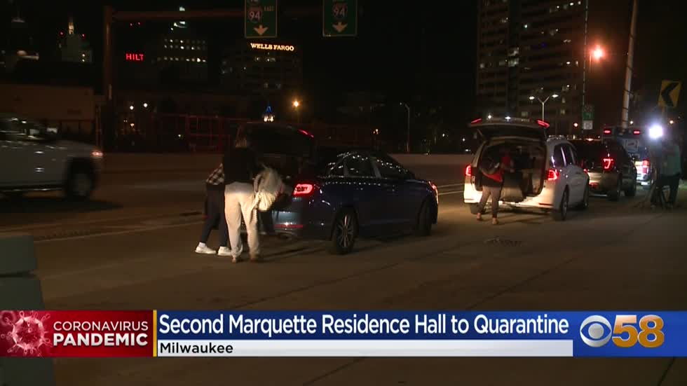 Marquette students head home, despite university telling them to quarantine at Cobeen Hall