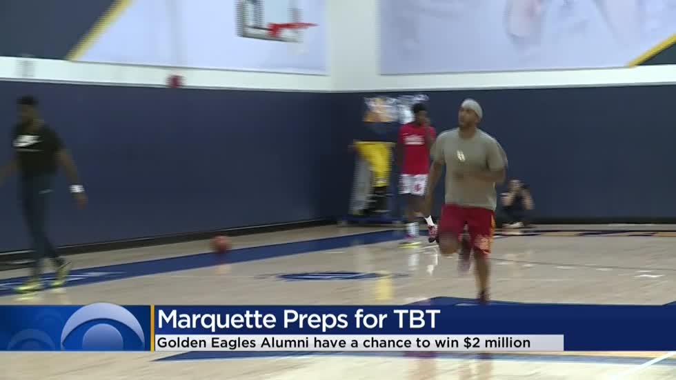 Marquette preps for TBT
