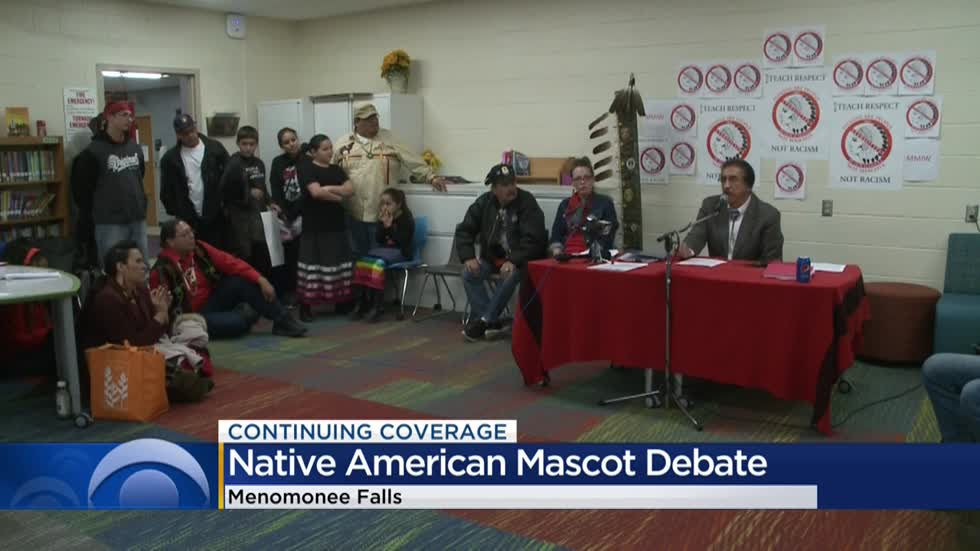 Battle over the Menomonee Falls High School mascot continues