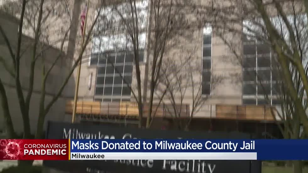 Milwaukee church, volunteers make and deliver masks to protect inmates at county jail