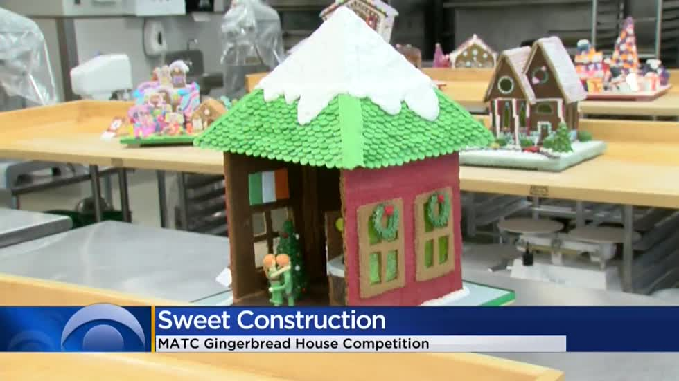 Gingerbread house competition at Milwaukee Public Market highlights MATC student bakers
