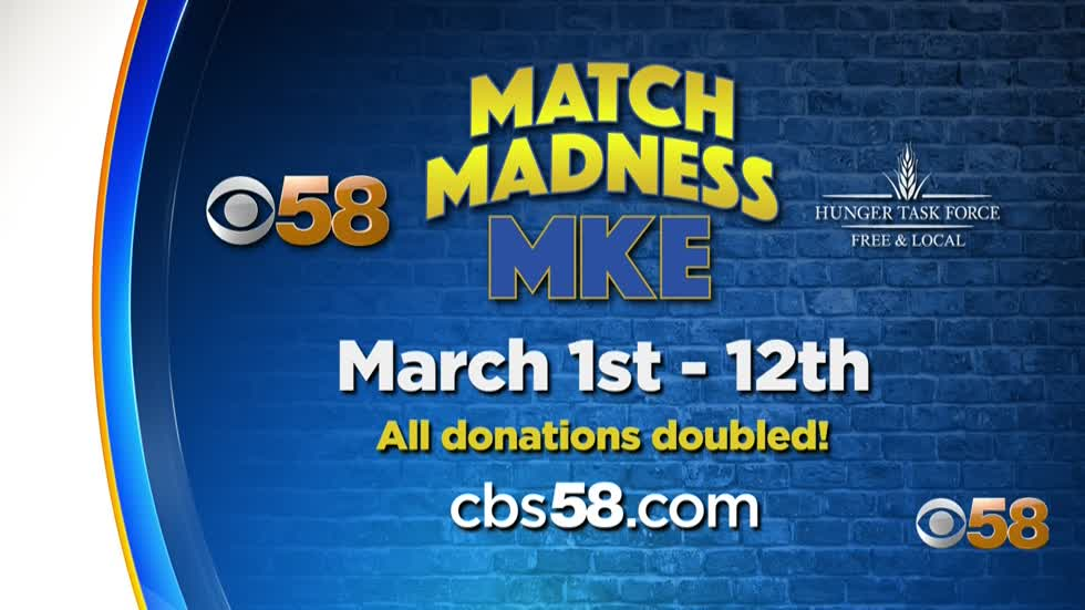 Helping the hungry, doubling your donations: 'Match Madness MKE' in the final stretch!