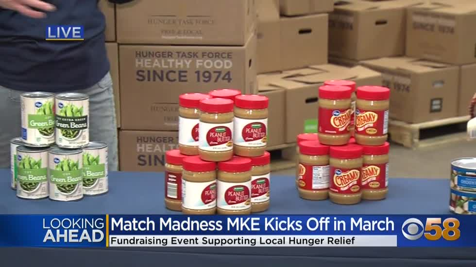 "Helping the hungry, doubling your donations.  ""Match Madness..."