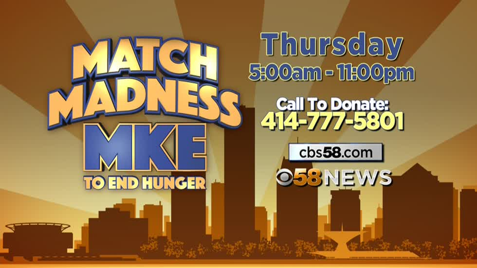 Hunger Task Force launches Match Madness MKE