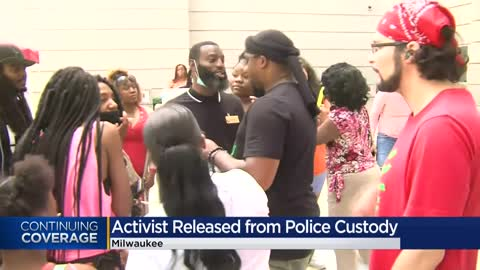 Milwaukee community activist Vaun Mayes released from jail