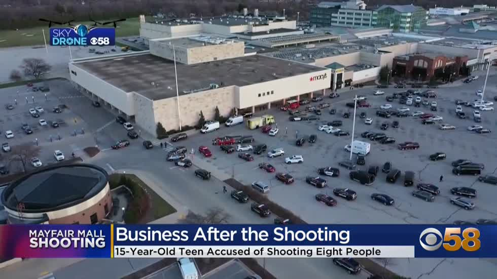 'Freaking out inside': Mayfair Mall employees discuss shooting that injured 8