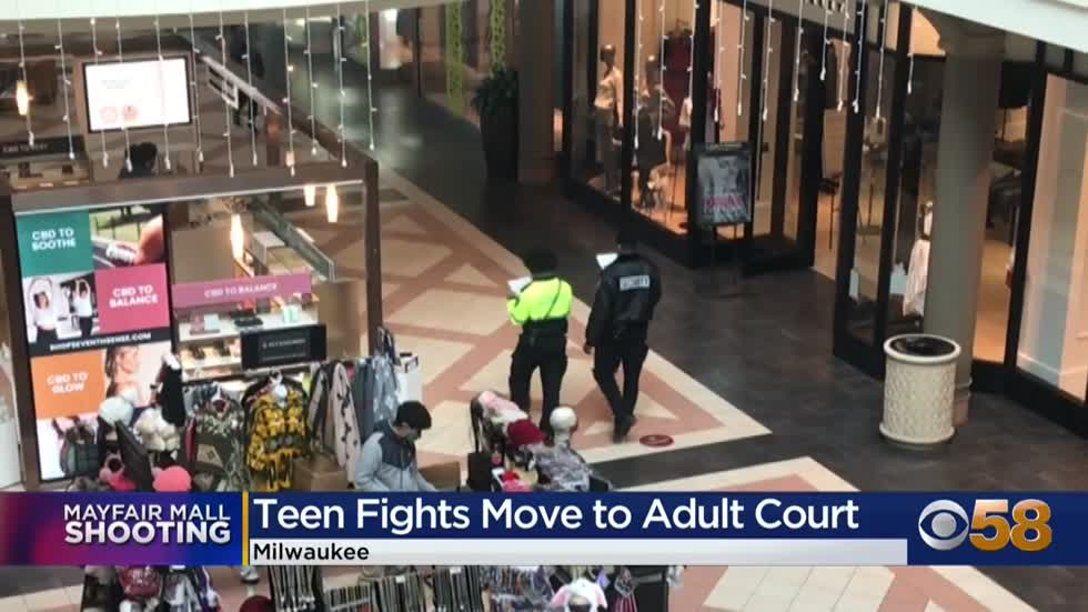 Teen accused of shooting 8 people inside Mayfair Mall appears...