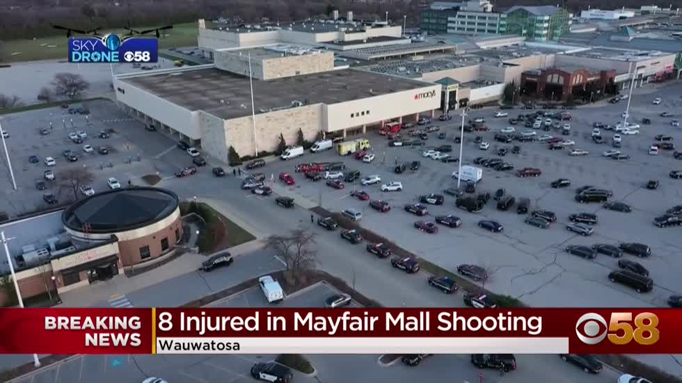 Latest: 7 adults, 1 teen shot inside Mayfair Mall in Wauwatosa, suspect at large
