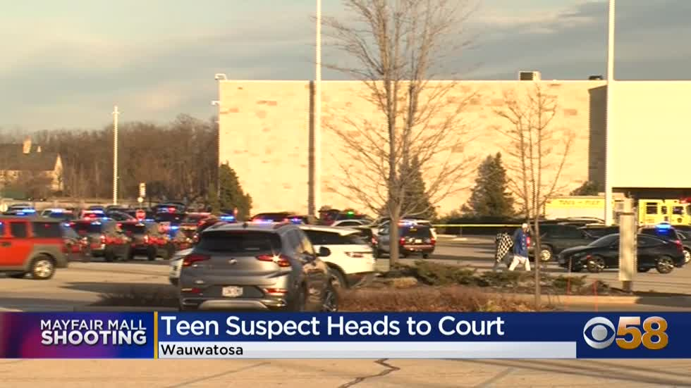 Mayfair Mall teen shooting suspect charged with multiple counts...
