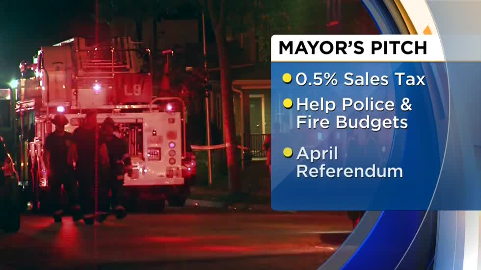 Mayor Barrett sends public safety sales tax proposal to Governor Walker