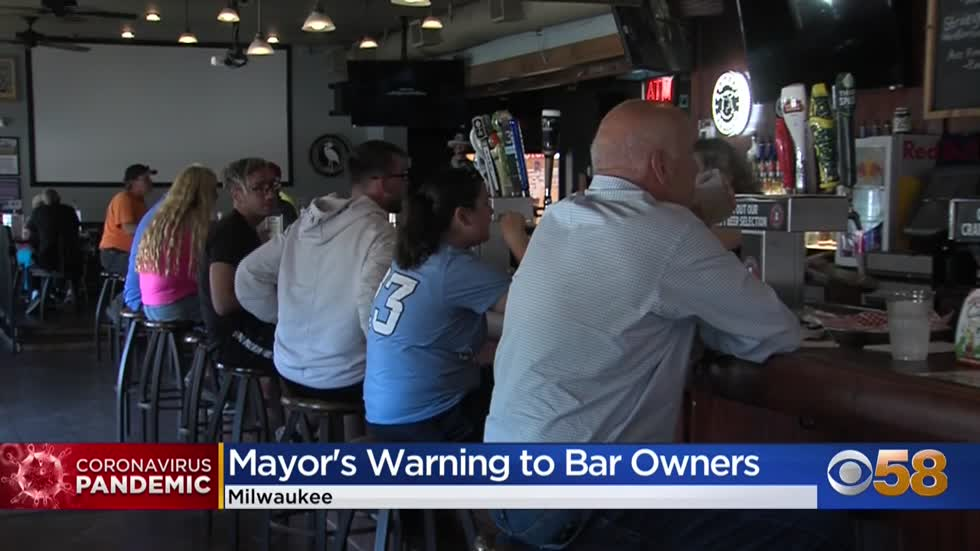 Mayor Tom Barrett: 'If bars want to screw this up, there's going to be problems'
