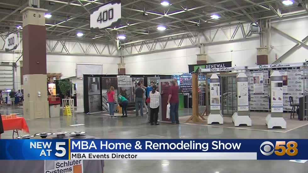 MBA Home & Remodeling Show wraps up at State Fair Park's expo center