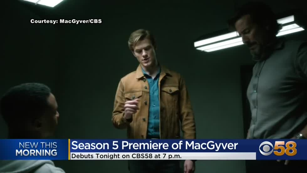 MacGyver returns on CBS 58 for 5th season beginning December...