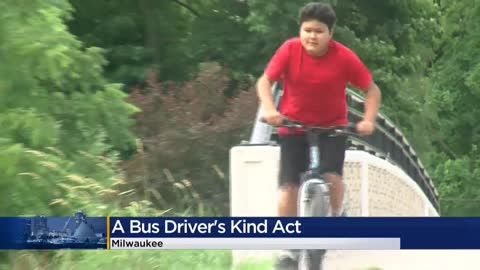 'The kindest, most generous thing:' MCTS driver surprises...