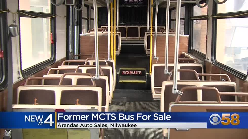 Milwaukee car dealer selling old MCTS bus
