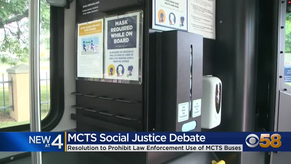 Resolution preventing MCTS from providing buses to police, military...