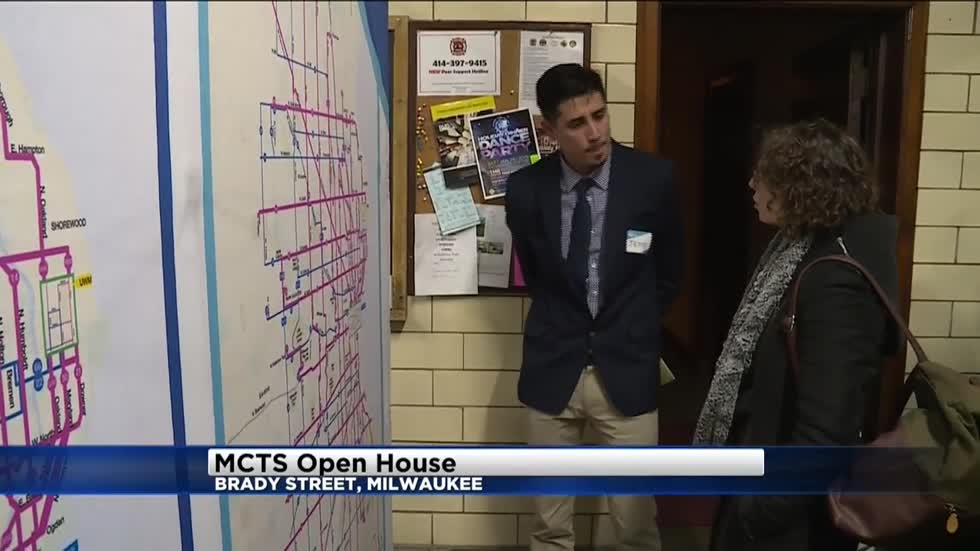 MCTS hosts open house to show off new network of bus routes that could be coming in the future