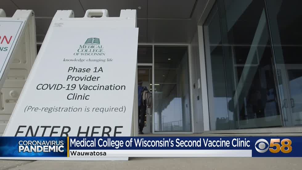 Medical College of Wisconsin offers vaccinations to non-affiliated...