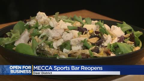 MECCA Sports Bar & Grill reopens 'being safe...being healthy'