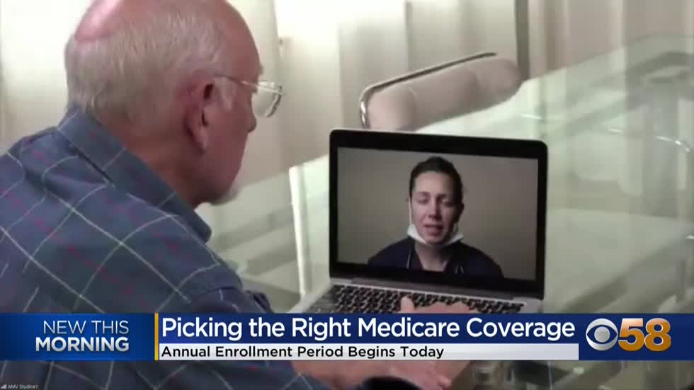 Medicare annual open enrollment period begins; expert offers tips for seniors