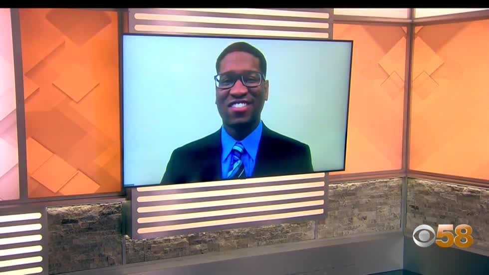 Meet Darius Joshua, CBS 58's new sports reporter!