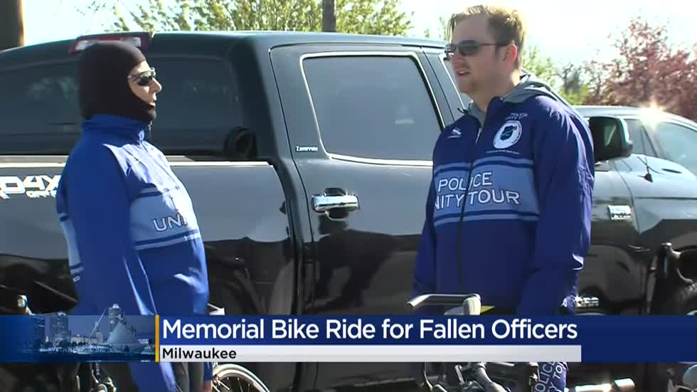 'Appreciate their support:' Memorial rides honor fallen officers amid pandemic