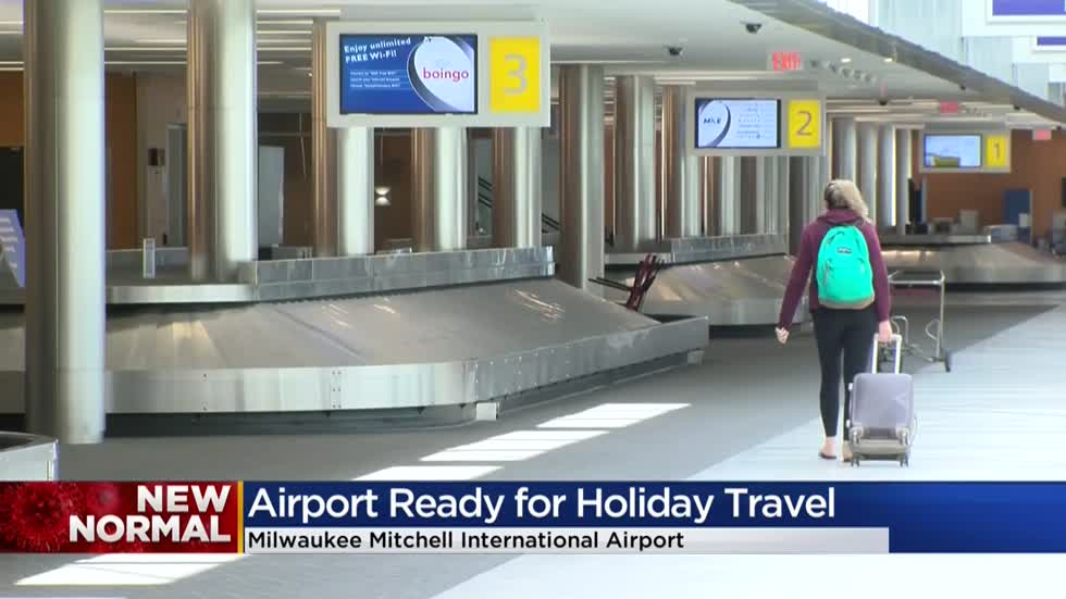 Mitchell International Airport sees gradual increase in passengers with some Memorial Day travel