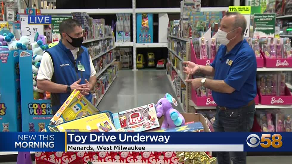 It's all about holiday toys & enchantment at your local Menards stores