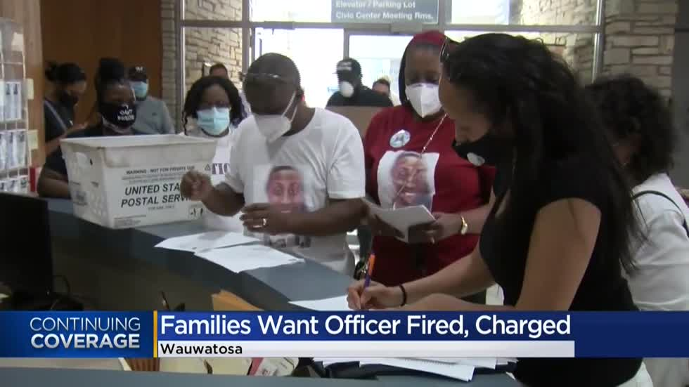 Family files complaint against Wauwatosa police officer involved in three deadly shootings