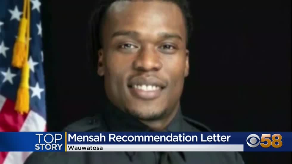 Wauwatosa police chief touts Joseph Mensah as 'an excellent...
