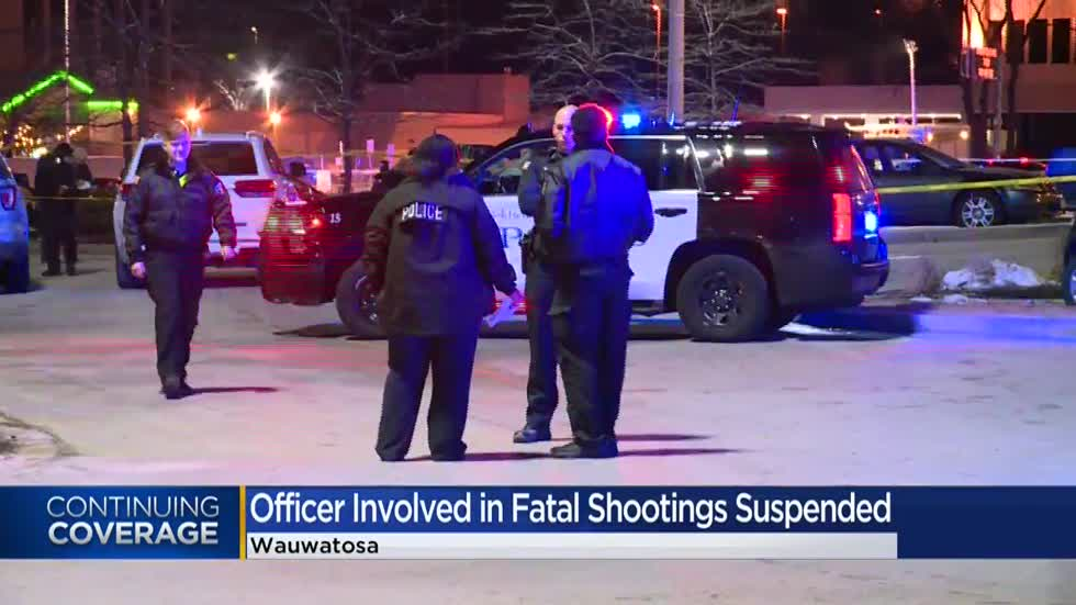 UPDATE: Wauwatosa Police and Fire Commission suspends Officer Mensah, who killed 3 people in 5 years