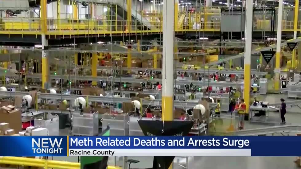 Racine County experiences a 350-percent increase in meth arrests in six months