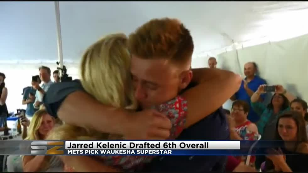 Jarred Kelenic drafted 6th, Brewers add shortstop