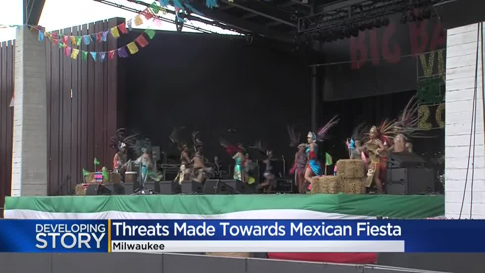 Milwaukee Police investigate reported threat against Mexican Fiesta