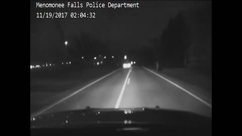 Dash cam video of Menomonee Falls chase, fiery crash released