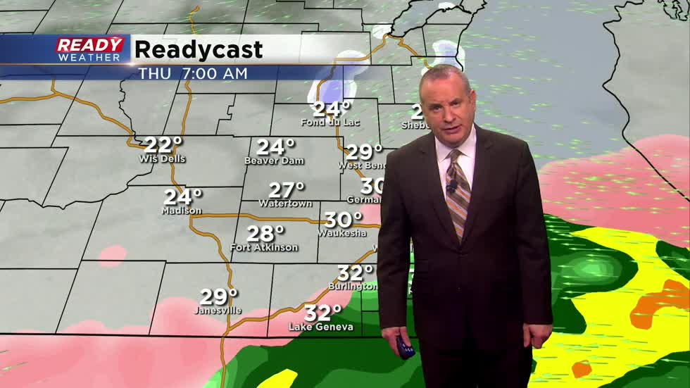 Thursday Afternoon Weather Update:  Slipping & Sliding Today
