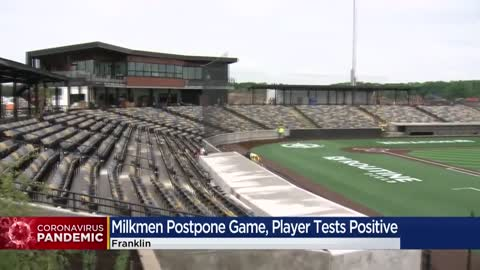 Milkwaukee Milkmen postpone game after player tests positive...