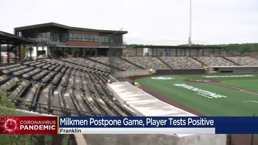 Milkwaukee Milkmen postpone game after player tests positive for COVID-19