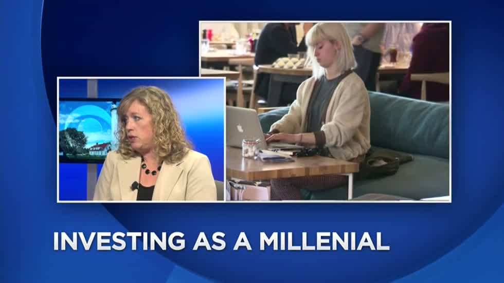 Strategies for millennial investing on the CBS 58 News at 4