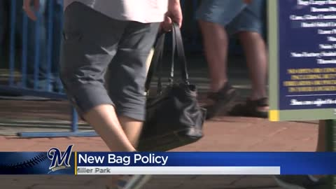 Brewers Changing Bag Policy For Miller Park In 2020