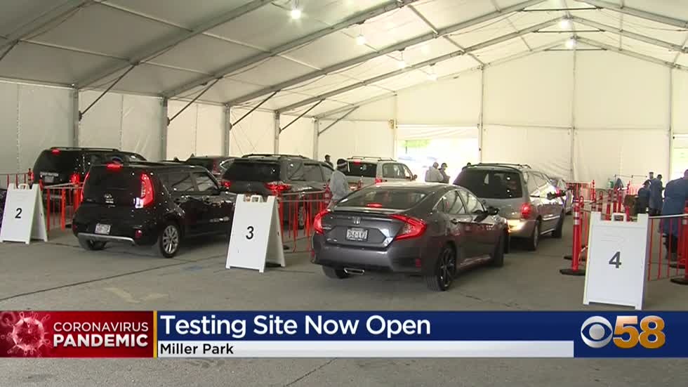 Miller Park opens up for COVID-19 testing