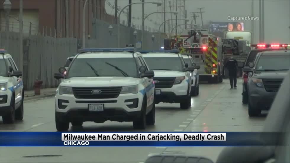 Milwaukee man charged after Chicago carjacking that led to another suspect's death