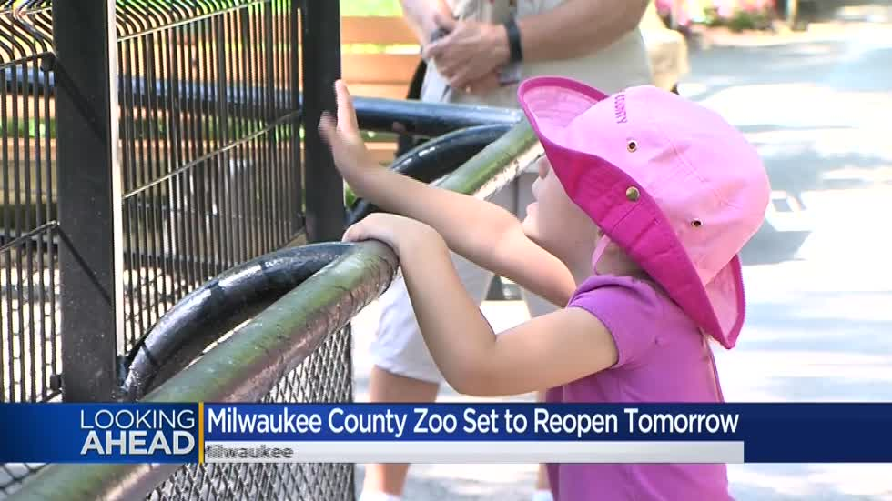 Reopening of Milwaukee County Zoo brings changes for guests amid COVID-19
