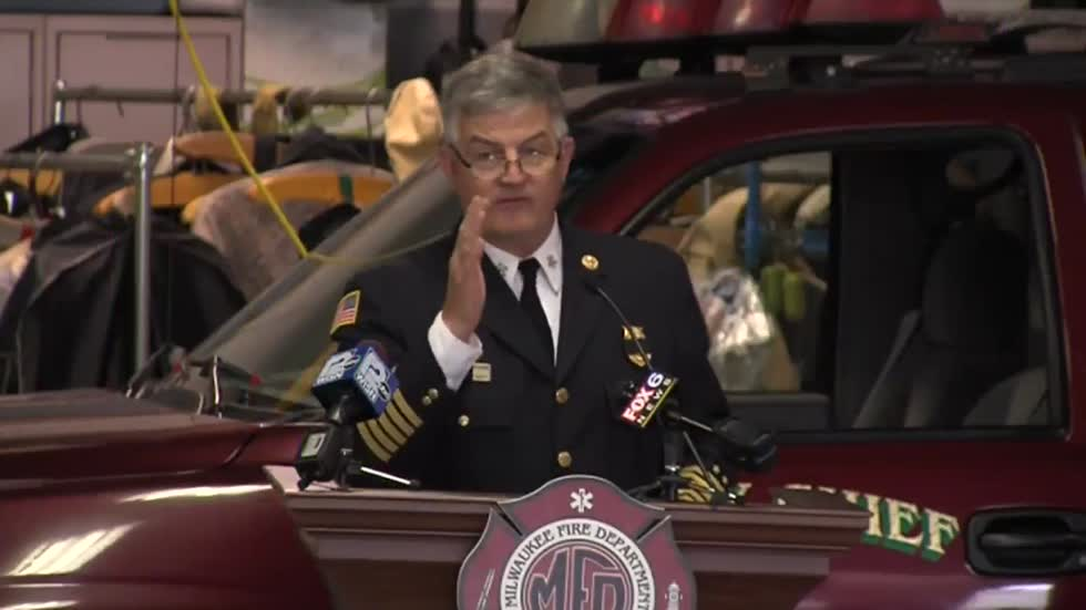 Milwaukee Fire Chief Rohlfing a finalist for Austin's fire chief