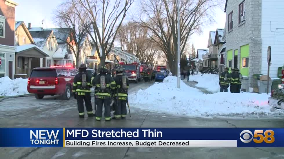 Milwaukee Fire Department stretched thin with 25% increase in...