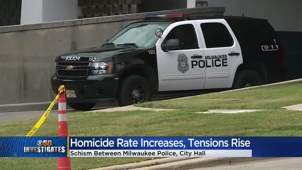 CBS 58 Investigates: Milwaukee homicide rates double as leaders clash over police funding