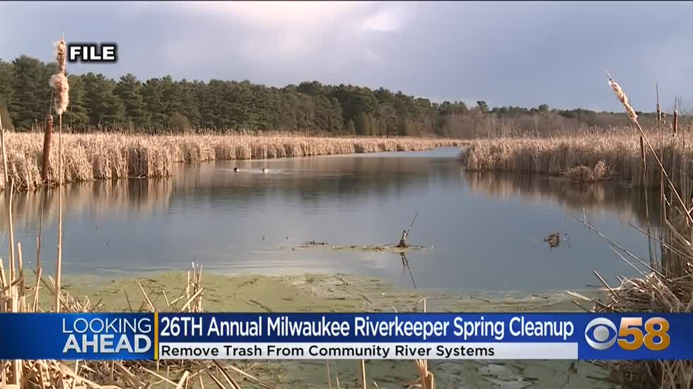 Milwaukee Riverkeepers to host annual spring cleanup April 24